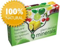 Sizzling Minerals, Plant derived mineral supplement
