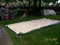 TRAILER AWNING 18 FOOT good condition