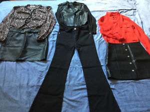Woman Clothing set of 3 outfits (FOREVER 21, MANGO)