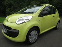 06/56 CITROEN C1 1.0 3DR HATCH IN YELLOW WITH ONLY 69,000 MILES