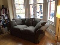 Beautiful 2 or 3 seater tweed retro sofa