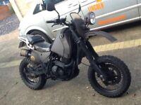 Suzuki DR650 rat bike, survival, fighter, one off