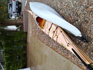 Two 17' Current Design, Storm kayaks.