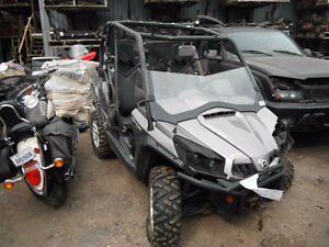 2011 CAN AM COMMANDER 1000 PARTS FOR SALE  ** PARTING OUT **