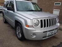 Jeep Patriot 2.4 ( 168bhp ) 4X4 CVT Limited 5dr FSH VGC Long MOT Free Warranty