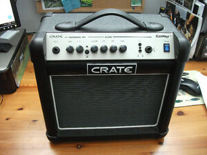 Crate electric guitar amp