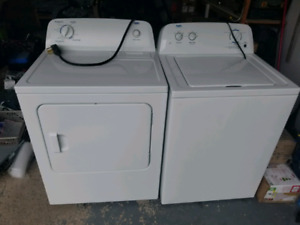 Inglis high efficiency washer and dryer