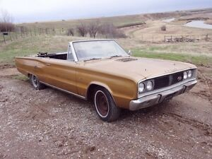 1967 Dodge Coronet R/T Convertible - Authentic - 440 Engine