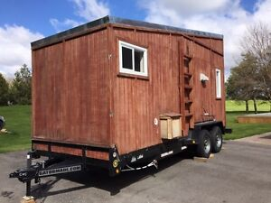 NEW 17ft by 7ft Custom Built Tiny Home / House on Trailer