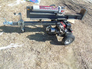 white log boss 31 ton woodsplitter