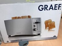 Brand new graef toaster RRP:120 selling for very cheap