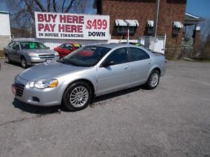 "2005 CHRYSLER SEBRING ""WOW ONLY 159,000 KM"""
