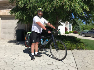 Giant escape touring bike. 650 new. bought in spring. Stratford Kitchener Area image 3