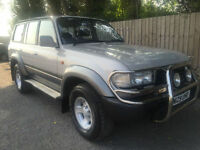 1995 N Toyota Land Cruiser 4.5 auto VX 7 seats 4x4 123k may p/x