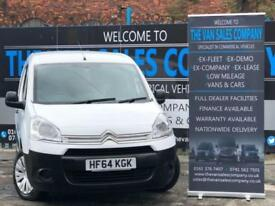 2014 64 CITROEN BERLINGO 1.6 625 ENTERPRISE L1 HDI 5D 74 BHP PANEL VAN DIESEL