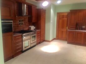 Kitchen units for sale including integrated fridge, dishwasher, microwave, kettle and toaster