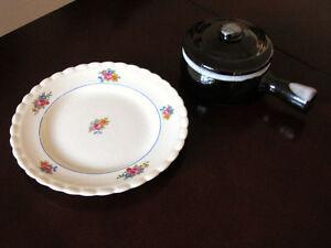 Plates and bowls  /  Assiètes et bols