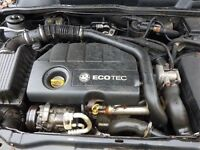 Vauxhall 1.7cdti engine, runs perfect, 61k miles £450 can be delivered