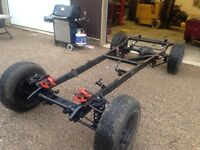 1928 - 1931 Ford Model A Hot Rod Chassis - Mustang II / 4 link
