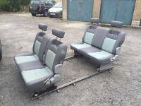 Camper seats/bed