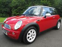 03/53 MINI COOPER 3DR HATCH IN RED WITH ONLY 72,000 MILES