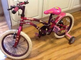 """Kids Bike - Apollo Popstar bike (16"""") with Stabilizers"""