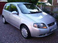 Chevrolet Kalos 1.2 SE 5dr 08 low miles 1 lady owner call 07790524049