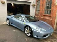 2001 Ferrari 360 MODENA manual Coupe Petrol Manual