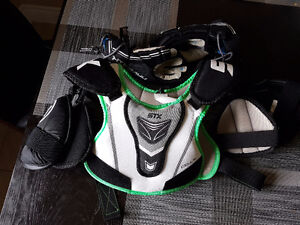 Lacrosse XS upper body and S gloves