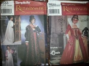 ASSORTED LADIES AND GIRLS COSTUME PATTERNS