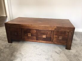 Coffee Table with draws.