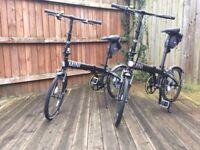 MINI Folding Bikes (pair)
