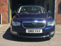 2010/10 SKODA SUPERB 2.0TDI CR 170 DSG ELEGANCE SAT/NAV+LEATHER P/X PASSAT A4 A5