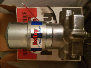 87 Ford Mustang New Holley fuel pump