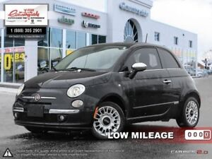 2012 Fiat 500 LOUNGE  -  heated mirrors -  fog lamps