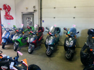 New SAGA Quest 49cc Gas Scooter/Moped on January SUPER SALE Now! Edmonton Edmonton Area image 14