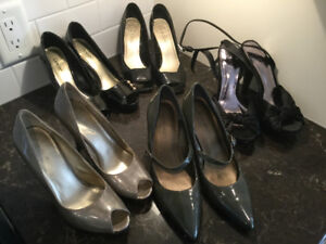 Assorted High Heel Shoes Size 5 1/2