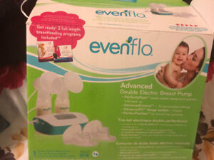 LIKE NEW, HARDLY USED Evenflo Advance Electri Double breastpump