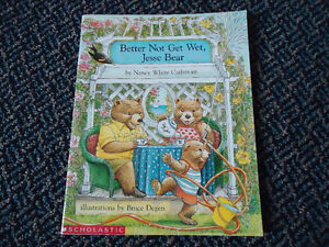 Better Not Get Wet, Jesse Bear Paperback