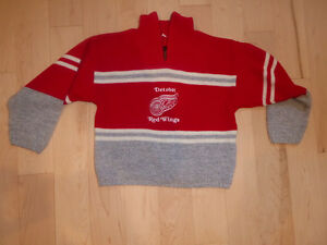 Detroit Red Wings sweater, size 4T