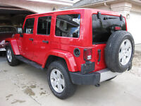 2012 JEEP WRANGLER Sahara Unlimited  - 37000 km