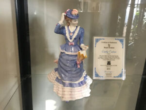 ROYAL DOULTON LADY EATON LIMITED EDITION WITH CERTIFICATE