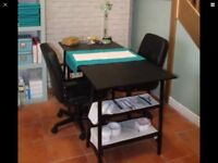 2 manicure stations