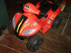 Lightning Mcqueen kids quad $100 obo