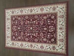 For Sale: 2 Small Burgundy Rugs