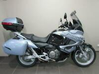 HONDA XL1000V-8 VARADERO 1000cc, 59 REG 24842 MILES, HONDA TOP CASE AND PANNI...