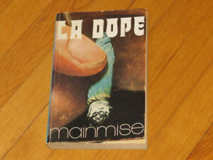 MAINMISE  / LA DOPE / ANNÉE  1972   collection   CONTRE  CULTURE