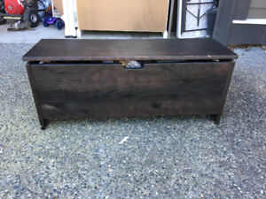 Shoe Chest and Bench - have your shoes and sit down too!