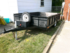 6x8.5 ft utility trailer for sale