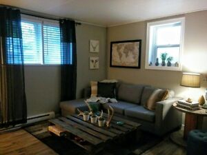 FOR RENT – Newly renovated one bedroom basement suite in Buena V